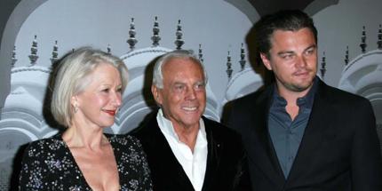 Giorgio Armani: Klare Schnitte, überzeitliche Farben, Designer der Stars
