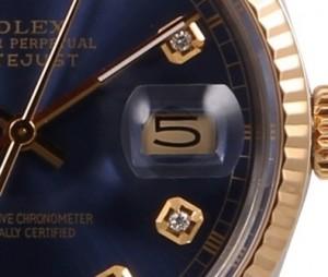 Uhr Rolex Lupe