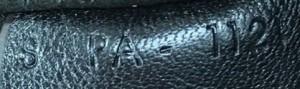 Seriennummer Céline Tasche