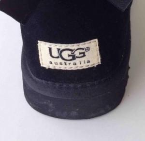 Ugg Boots Etikett