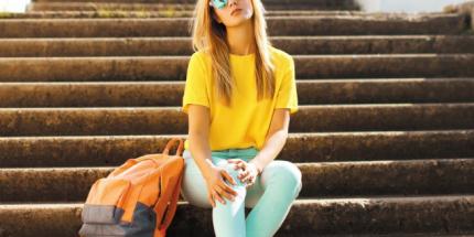 Mut zur Farbe mit dem neuen Fashiontrend Colour-Blocking