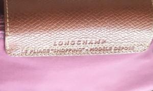 fake vs genuine Longchamp Le Pliage