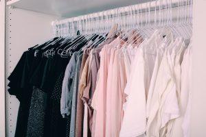 Kleiderstange mit System